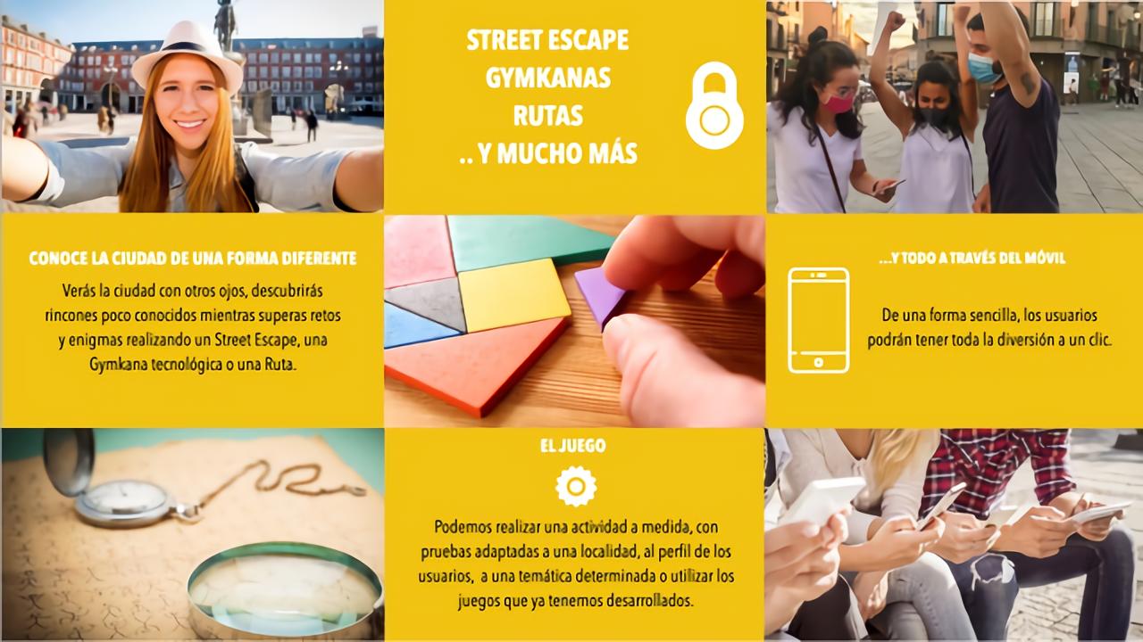 Mappo Street escape | Escape aire libre Juegos geolocalizados | Urban escape city room exterior PARTNERS