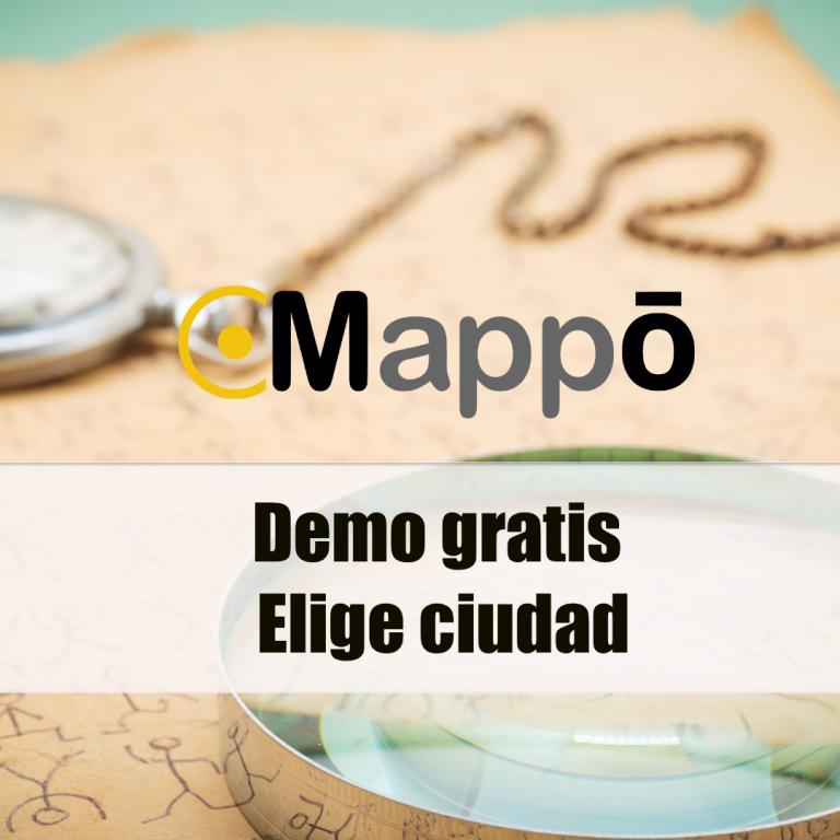 Mappo Street escape | Escape aire libre Juegos geolocalizados | Urban escape city room exterior Demo elige ciudad